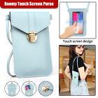 Women Touch Screen Crossbody Cell Phone Bag Wallet Pouch Purse Shoulder Case POP