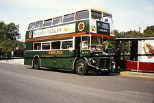 BUS SLIDES    LONDON    REG NO  CUV 184C