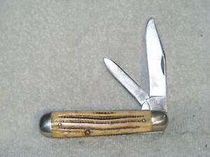 Vintage Winterbottom Bone Queen Knife - 1958- 1960