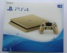 NEW Sony PS4 Slim 1TB Gold Edition Video Game Console CUH-2015B Sealed