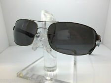 NEW RAY BAN RB 3445 005/K3  61MM  rb3445 MATTE GRAY/SILVER MIRROR POLARIZED
