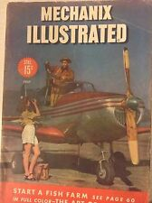 Mechanix Illustrated Magazine Start A Fish Farm July 1946 081617nonrh