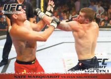 2009 TOPPS UFC ROUND 1 ROOKIE RC DEBUT NATE MARQUARDT #27