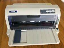 Epson LQ-735K 24-PIN Dot Matrix Printer + 2 x Ribbon Cartridge