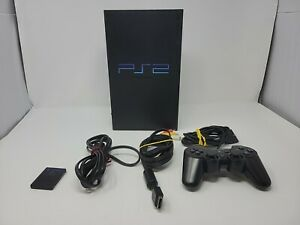 PlayStation 2 PS2 Fat Console Sony System Complete Tested and Working Bundle!