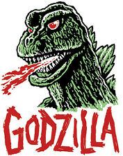 GODZILLA • Mani-Yack Iron-On Transfer • Retro Monster Design!!!