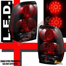 02-09 Chevy Trailblazer Red Smoke LED Tail Lights Lamps 1 Pair
