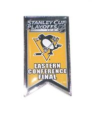 Pittsburgh Penguins Lapel Pin Banner Design 2016 Stanley Cup Conference Finals