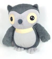 "KOHLS CARES Gray Owl 10"" Soft Fuzzy Plush - AESOP'S FABLES HOOTY OWL"