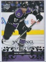 WAYNE SIMMONDS Young Guns Rookie 2008 2009 Upper Deck #221 Toronto Maple Leafs