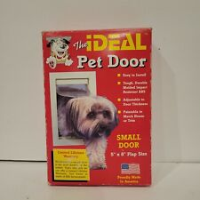 """The Ideal Pet Door Small 5""""x 8"""" Flap Size Dogs Cats Easy Install New in Box"""