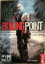 Punto de ebullición Juego PC DVD ROM por Atari shooter de acción rara Vintage 2005