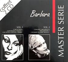 Barbara Coffret 2xCD Master Série - France (EX/M)