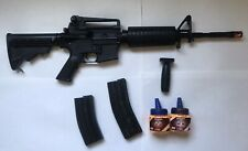 Combat Machine Air-soft Gun with extended magazine and 1000 6 mm BB bullets
