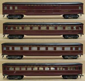 Fleischmann Pennsylvania 4-Car Passenger Set Tin HO-Scale