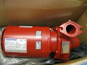 """1-1/4"""" Armstrong 4360B-00 Bronze Fitted Vertical In-Line Pump NEW R4 (2672)"""