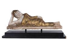 Burma 19./20. Jh. Marmor Buddha - A Burmese marble figure of reclining Buddha.