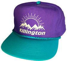 814ba91b468 Killington Vermont Purple 80 s Snapback Boardwalk Hat Cap Ski Snowboard  Skiing