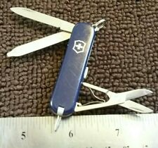 NAVY BLUE SWISS ARMY VICTORINOX SIGNATURE Pocket Knife MULTI TOOL BLADE SAK