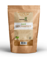 Organic Cordyceps Militaris Mushroom Powder   Detox Tea   Raw   Pure   Medicinal