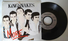 the Kingsnakes More  French promo EP-1988 45T-vinyl - MINT/ MINT unplayed