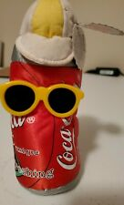 "Coca Cola 6"" Bean Bag Plush: 1998 Style #0132"