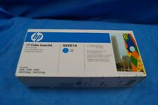 Genuine HP Q6001A Cyan Toner Cartridge Laserjet Hewlett Packard