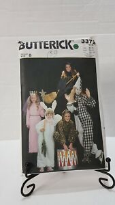 Butterick 3372 Girls Size S M L Halloween Costumes All Sizes Uncut
