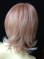 Perruque blonde reflet auburn