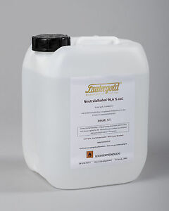 Lautergold Neutralalkohol 5l 96,6% vol.  Prima Sprit Ethanol, Alkohol Primasprit