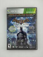 Batman: Arkham Asylum - Xbox 360 Game - Complete & Tested