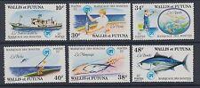 Wallis & futuna: 1979 bonite à ventre rayé set SG310-15 neuf sans charnière