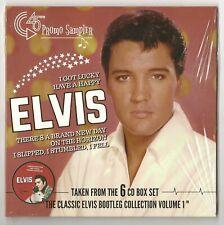 "ELVIS PRESLEY 7"" RED VINYL 45 RPM ""CLASSIC COLLECTION VOLUME 1"" PROMO SAMPLER"