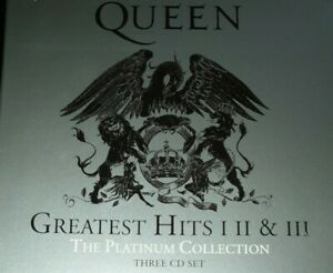 Queen ‎– Greatest Hits I II & III (The Platinum Collection) - COFANETTO 3CD NEW