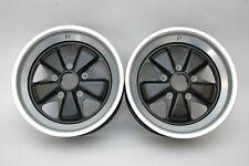 Porsche 911 930 Fuchs 16x8 Wheels New Pair 91136211700
