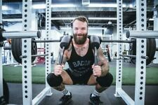 EKTYV Weight Lifting Knee Sleeves Power Brace Pad Wrap Guard Squats Deadlift 7mm