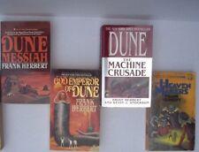Frank Herbert Dune Lot Messiah God Emperor of The Machine Crusade Heaven Makers