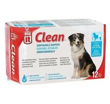 Dogit Disposable Dog Diapers for Incontinence - 12 pack