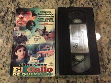 EL GALLO DE GUERRERO RARE VHS 2000 SPANISH MEXI CHITO CANO, VANESSA DEL ROCIO!