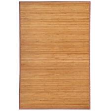Bamboo Area Rug Floor Carpet 4' x 6' Bamboo Wood Non-Slip Mat Indoor Outdoor New