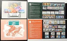1986 & 1987 NEW ZEALAND NZ Stamp Pack MINT Complete Year Sets