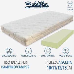 Materasso per Lettino Culla Camper Campeggio Babyflex 60x120 cm  - Baldiflex