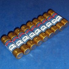 BUSSMANN FUSETRON 4A 250V DUAL ELEMENT FUSE FRN 4 *LOT OF 9*