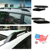 For Toyota Land Cruiser Prado 2003-09 Roof Rack Cover Rail End Shell Replace BE