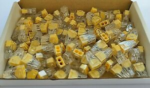 100 X Wago (Type) Pct-102 Terminal Block Electrical Connectors. (CE) RoHS