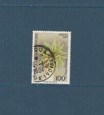 Cote d' Ivoire  flore  fleur  RARE    de 1983  num: 675C  oblitéré