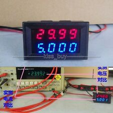 500V 50A DC Voltmeter Amperemeter Digital LED Strom Stromspannung METER 12v 24V
