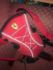 Ferrari porte-bébé de la naissance avec ceinture rouge original