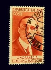 Italy Stamp 1955 / 70th. Anniversary of Birth of Matteotti