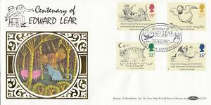 (86929) GB Benham FDC BLCS35 Edward Lear Holloway London N7 1988